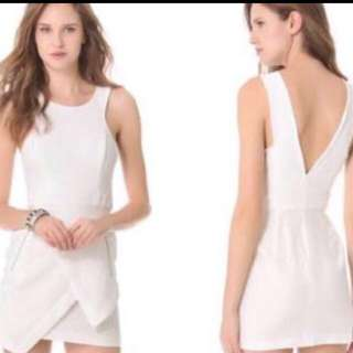 Finders Keeper White Dress