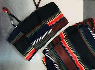 Sleeveless&Skirt (Terno)