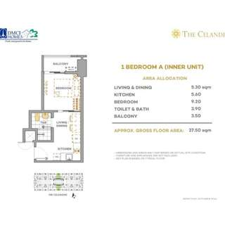 1BR unit for sale in The Celandine with 8% promo discount in QC