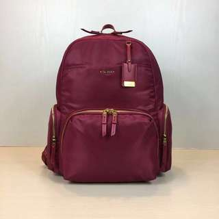 TUMI Calais Backpack (Red/Maroon)