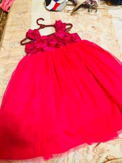 GOWN FOR 1 to 2 YEARS OLD.