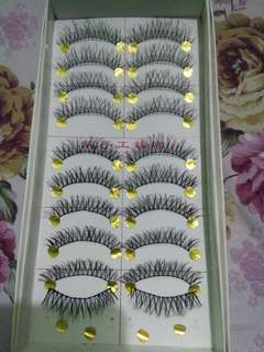 Taiwan False Eyelashes M14