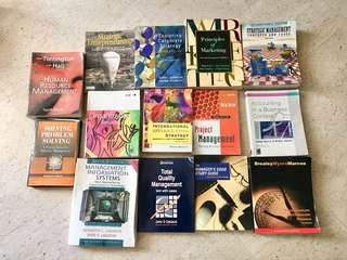 Business & Management Books $5/each