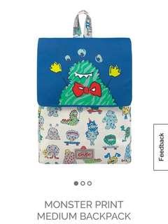 Original Cath Kidston Monster Bagpack
