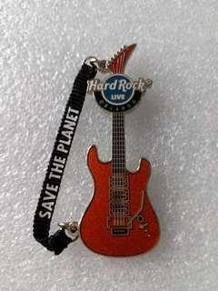 Hard Rock Cafe Pins ~ ORLANDO LIVE HOT 2008 MANTRA STRAP GUITAR SERIES PIN!
