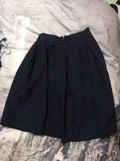 """REPRICED!! """"Milai"""" highwaisted grid skirt"""