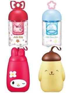 全新7-11 Sanrio4款限量版水樽