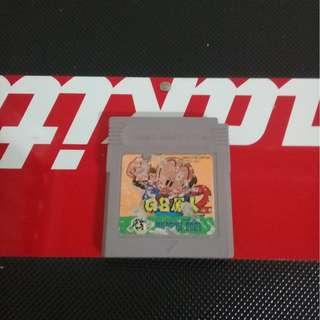 GAMEBOY GB 原人2 卡帶 二手 橫向動作 經典有趣 gameboy 有其他商品都可殺價