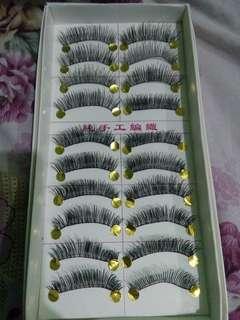 Taiwan False Eyelashes Y66