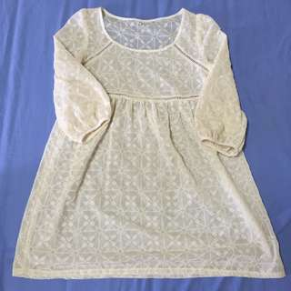 Blouse lace top babydoll