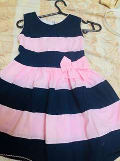 Branded dress for age 1 to 2 years.