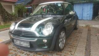 Cooper s 1.6m 6 speed turbocharged