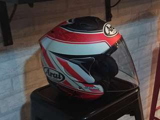 Authentic ARAI Hayden Star Ram 4 (Size M)