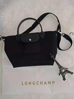 Authenthic Longchamp Le Pliage Neo Black