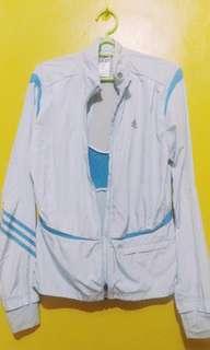 ORIGINAL adidas pastel green sweat jacket 1f35cf06efda