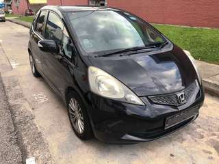 Honda Fit 1.3a panoramic roof