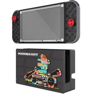 Nintendo Switch Mario Kart Play and Protect Skins - Mario Kart Edt