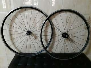 Giant TCR advanced wheelset