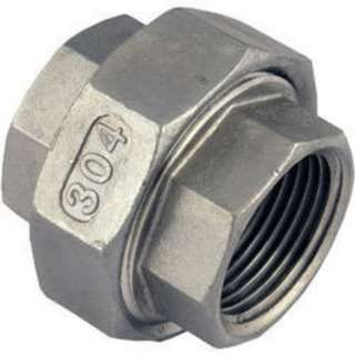 """Meisons ss threaded union patente 1/4"""""""