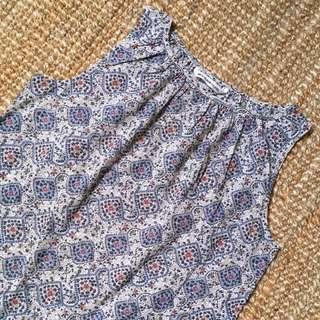 🇯🇵【MOSAIC VINT】國外帶回日本製極美boho hipster棉質古著背心