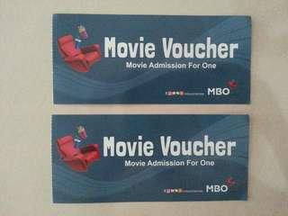 MBO Movie Ticket x 2