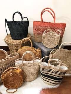 Woven / Abaca Bags