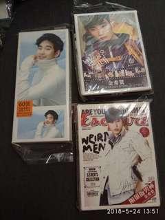韓星名信片(每盒)