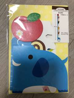 Gift card set for newborn baby / made in Korea