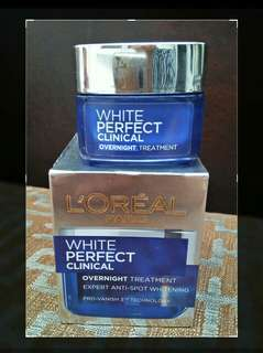 Loreal Night Creme White Perfect