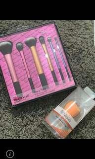 Brush & sponge