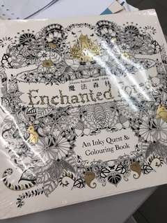 Enchanted Forest Colouring Book - Johanna Basford