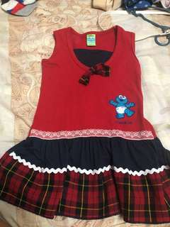 PRELOVED DRESS FOR 1 to 2 ages