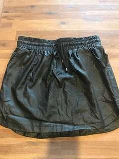 Factorie wet look skirt