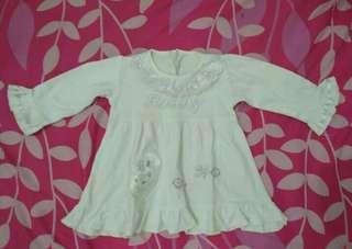 Dress bayi 6-12m