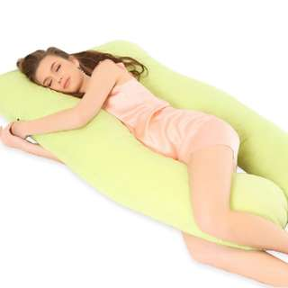 U Shaped Full Cotton Pregnancy Pillow Brand New