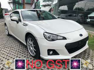 UNREG coupe 2013 Subaru BRZ S Spec 2.0cc AT 4 seater