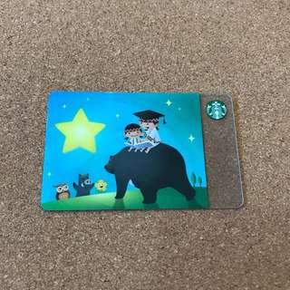 Taiwan Starbucks Card Anai 2018
