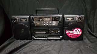 90's panasonic radio rx-cs720