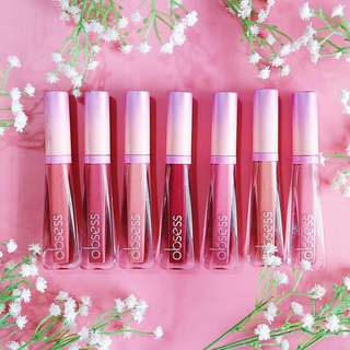 Mattely in ❤Lipstick by Obsess Cosmetics