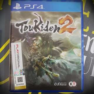 PS4 TOUKIDEN 2 R3 VERSION