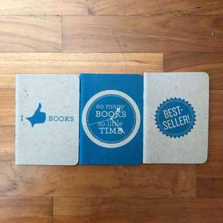 BN Times Notebooks: So Many Books So Little Time