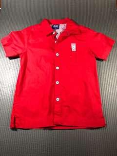 Red Boys' Polo