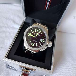Authentic TW Steel Canteen Automatic Black Dial Men's Watch CS25