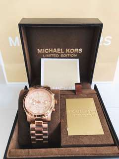 AUTHENTIC MK Watch Rose Gold (Limited Edition)