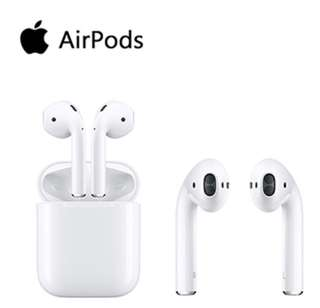🚚 Apple Airpods 原廠無線藍芽耳機(2018公司貨)