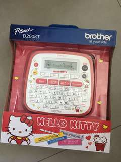 Brother P-touch Labeller Hello Kitty
