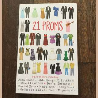 21 Proms by various authors (SIGNED by E. Lockhart)
