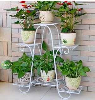 Product details of 6 Layers of Iron Flower Shelf Plant Holder Flower Pot Holder Balcony Living Room Indoor Flower Stand