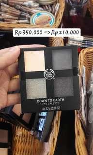 Body Shop Eyeshadow Pallete