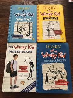 Geronimo Stilton / Adeline Foo/ diary of wimpy kid